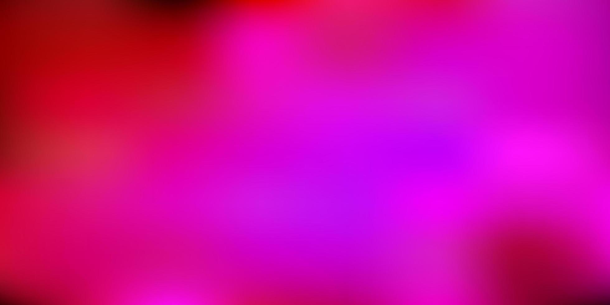 layout de borrão de gradiente de vetor rosa escuro.