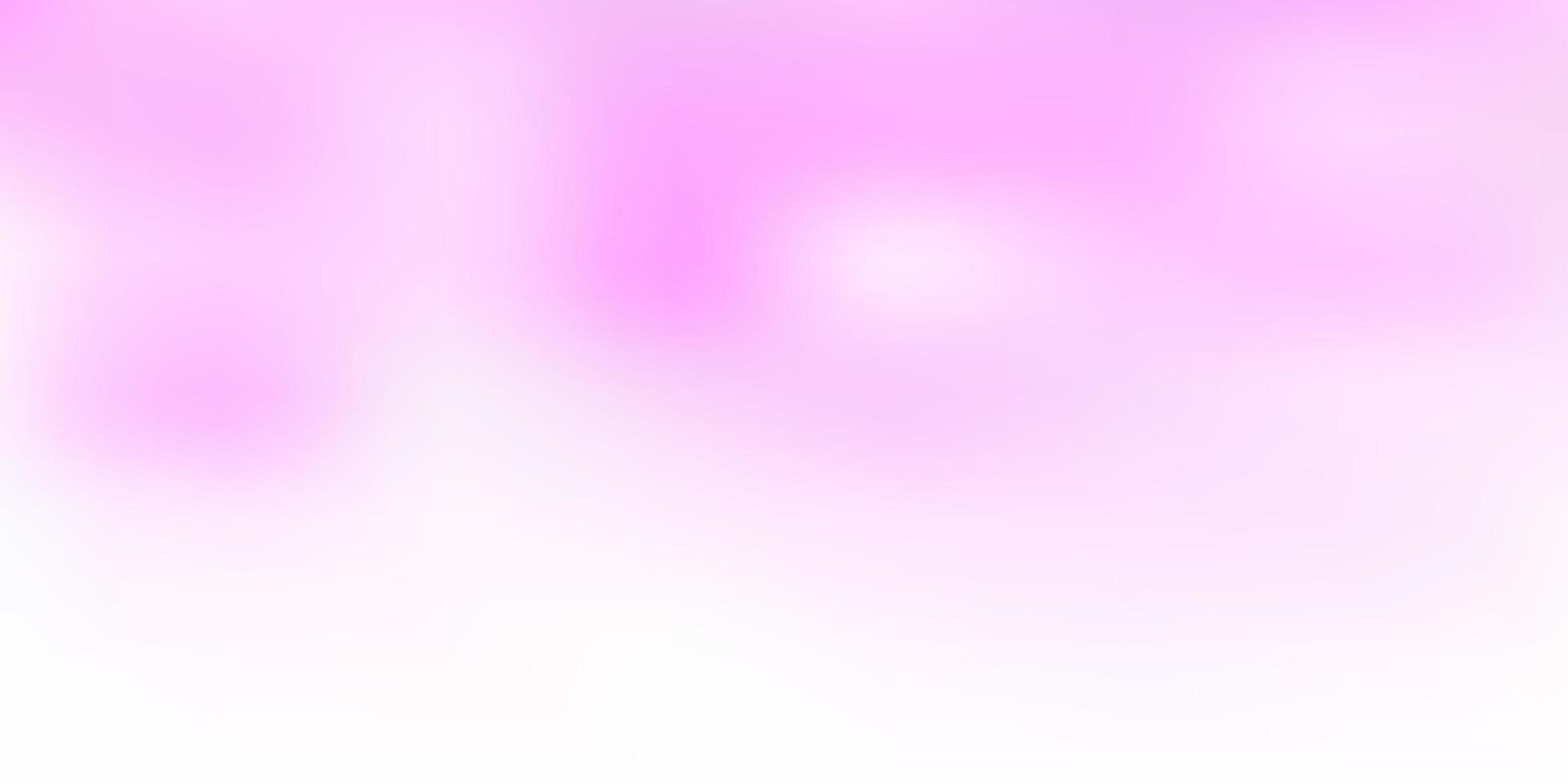 textura turva vector rosa claro.