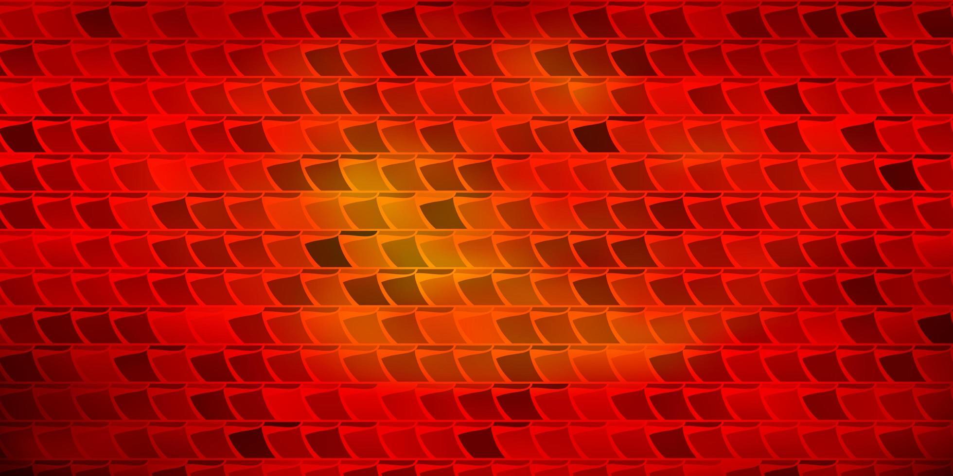 textura vector vermelho escuro em estilo retangular