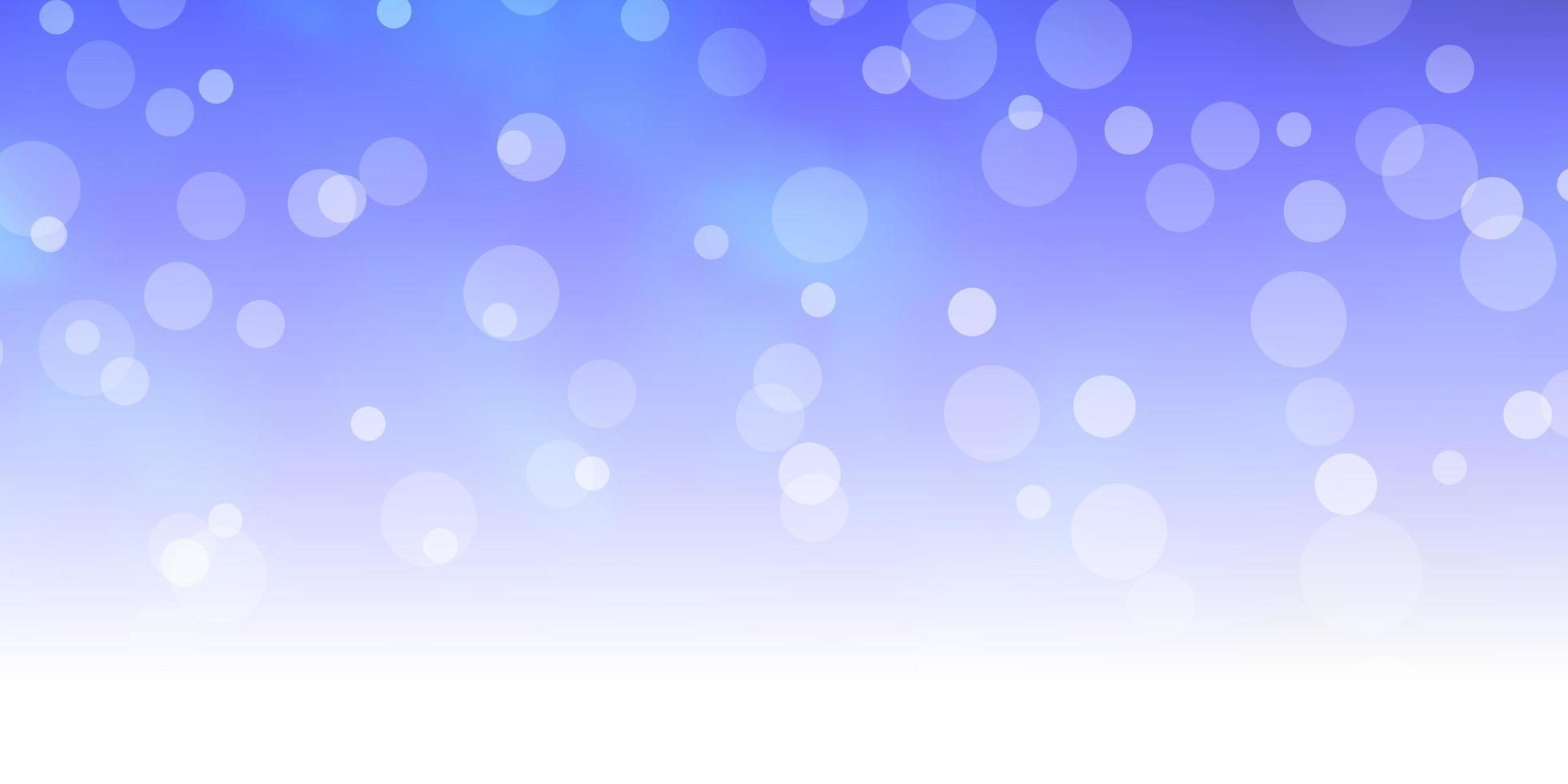 layout de vetor de azul escuro com círculos.
