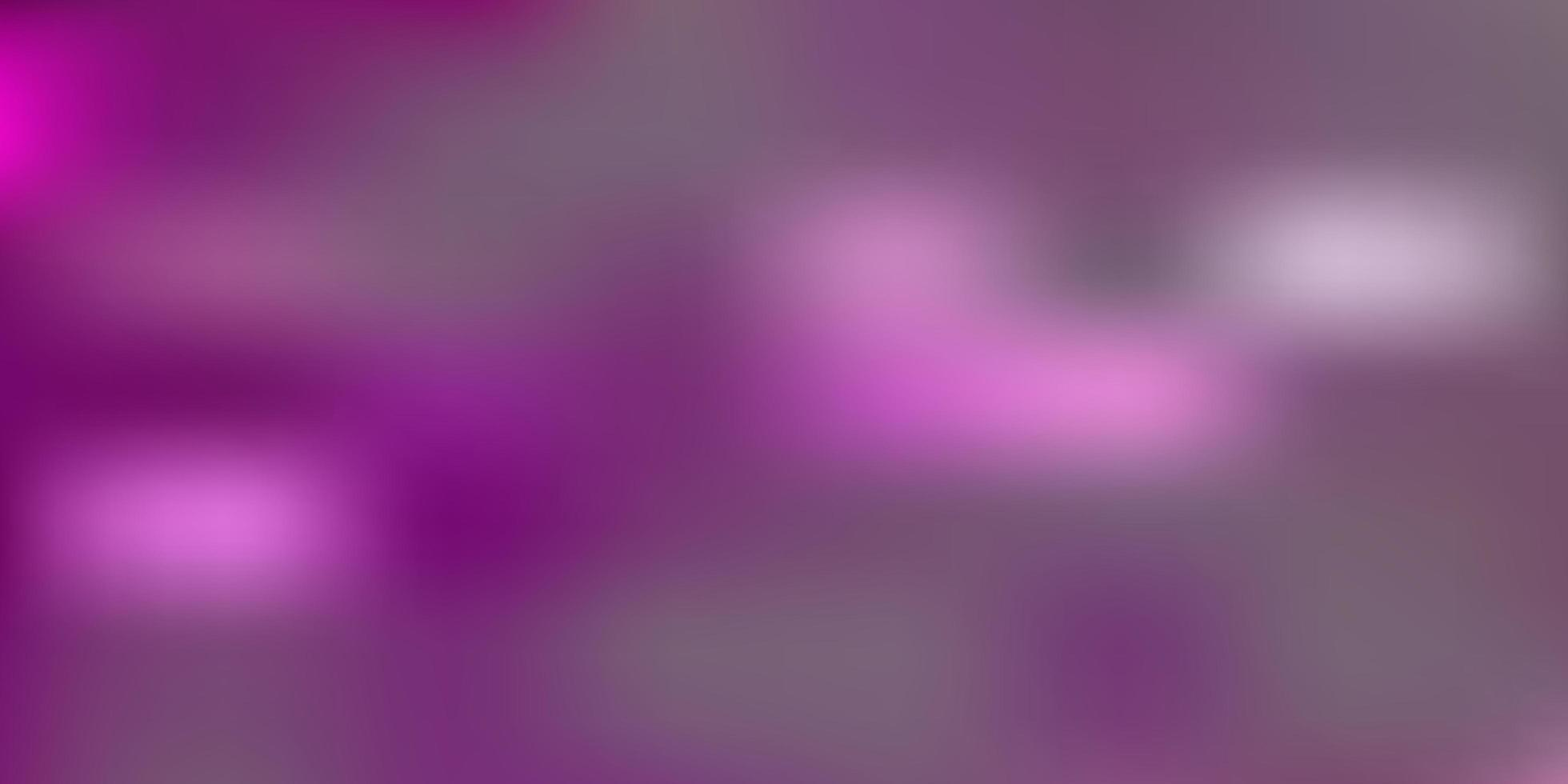 layout de borrão de vetor rosa claro e amarelo.