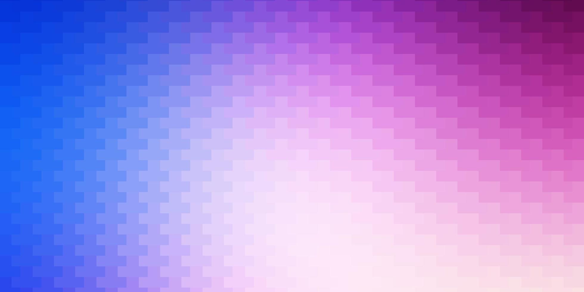 pano de fundo rosa claro, azul vector com retângulos.