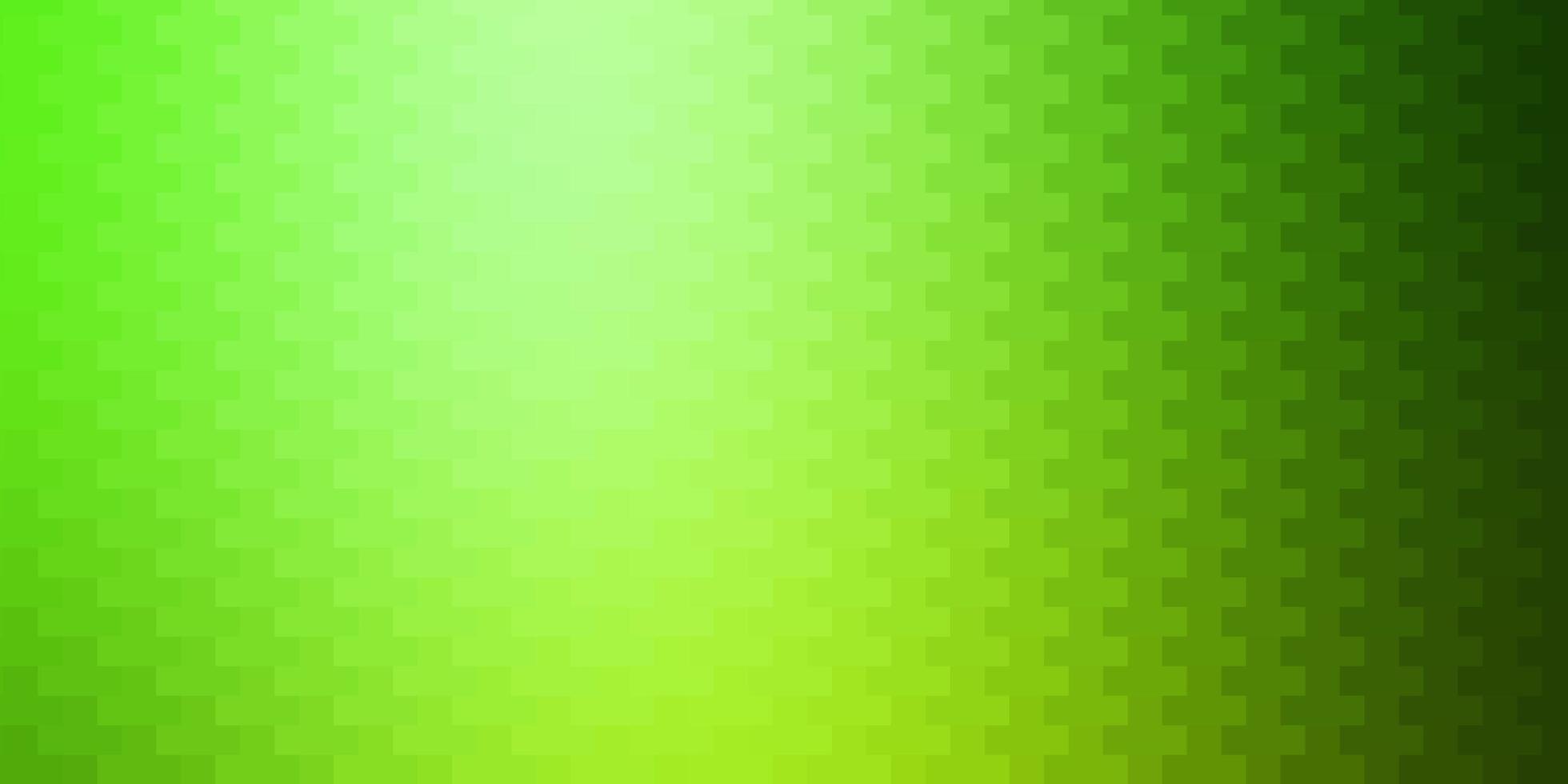 padrão de vetor verde claro em estilo quadrado.