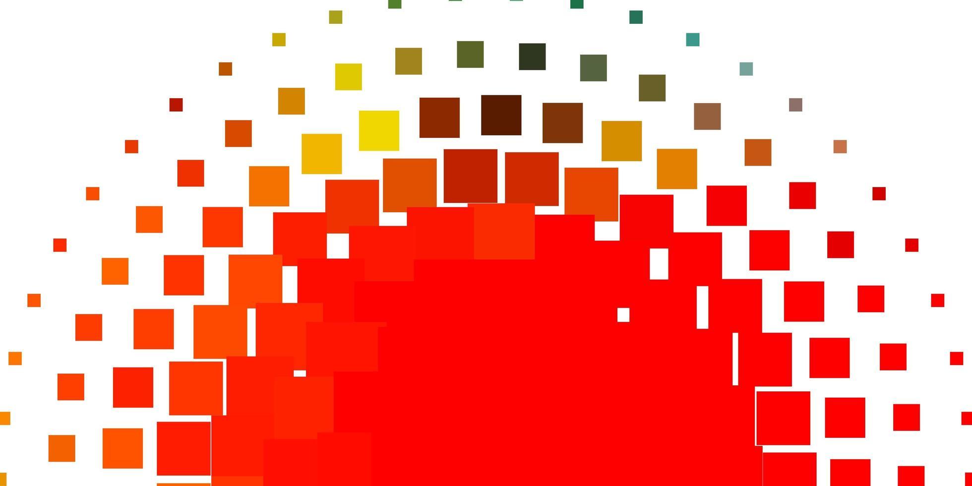 layout de vetor multicolorido de luz com linhas, retângulos.