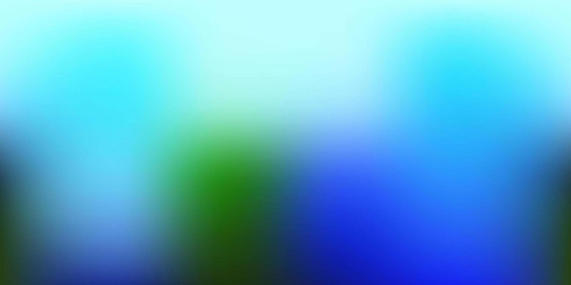 luz azul, verde vetor turva textura.