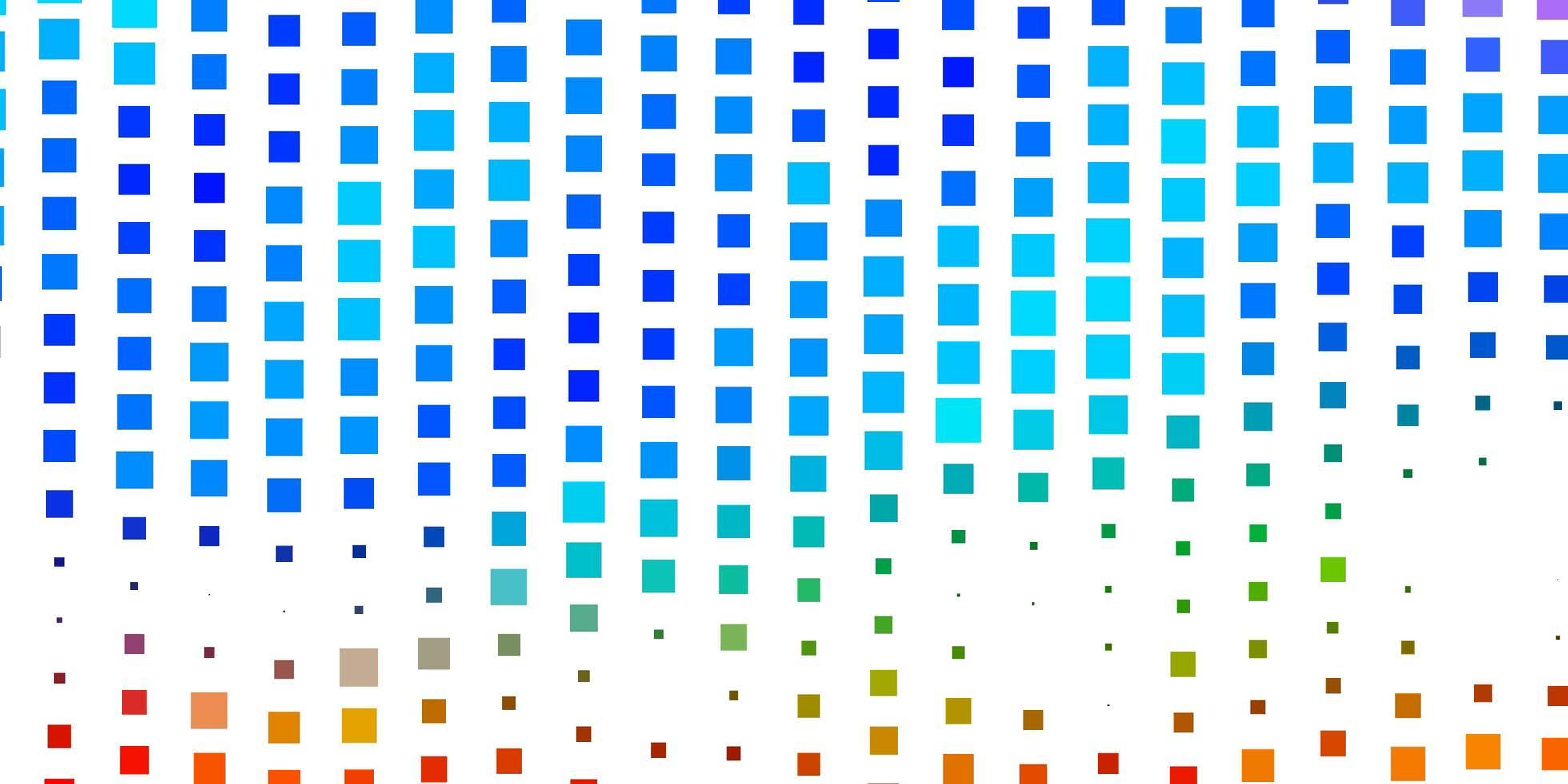 modelo de vetor multicolorido escuro em retângulos.