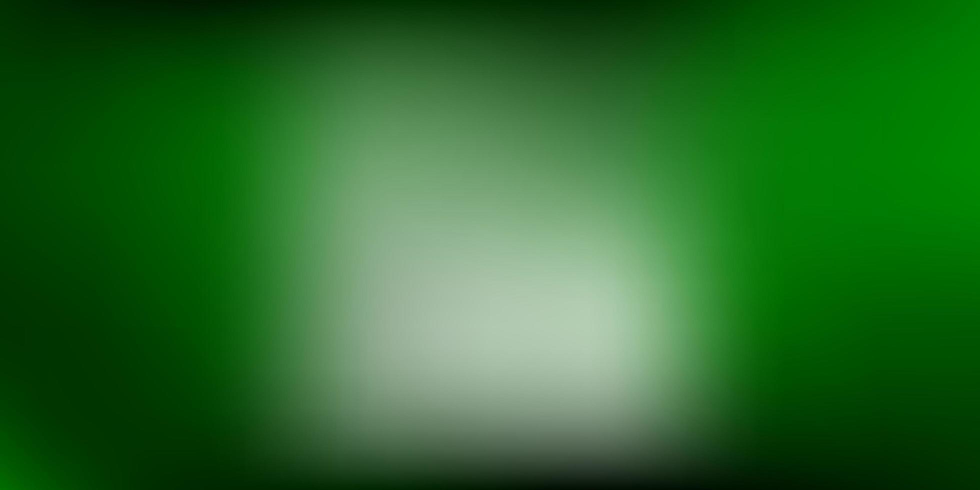 desenho de borrão de gradiente de vetor verde escuro.