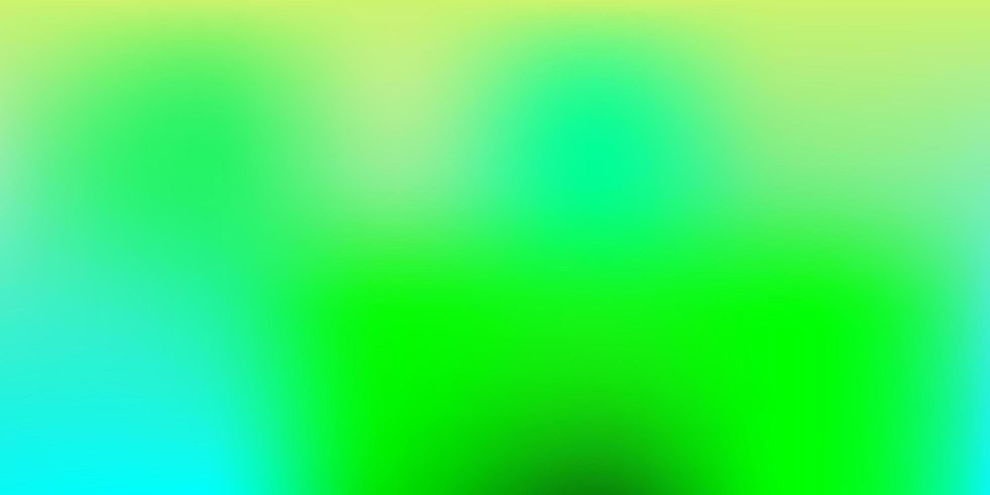 luz azul, verde vetor abstrato desfocar padrão.