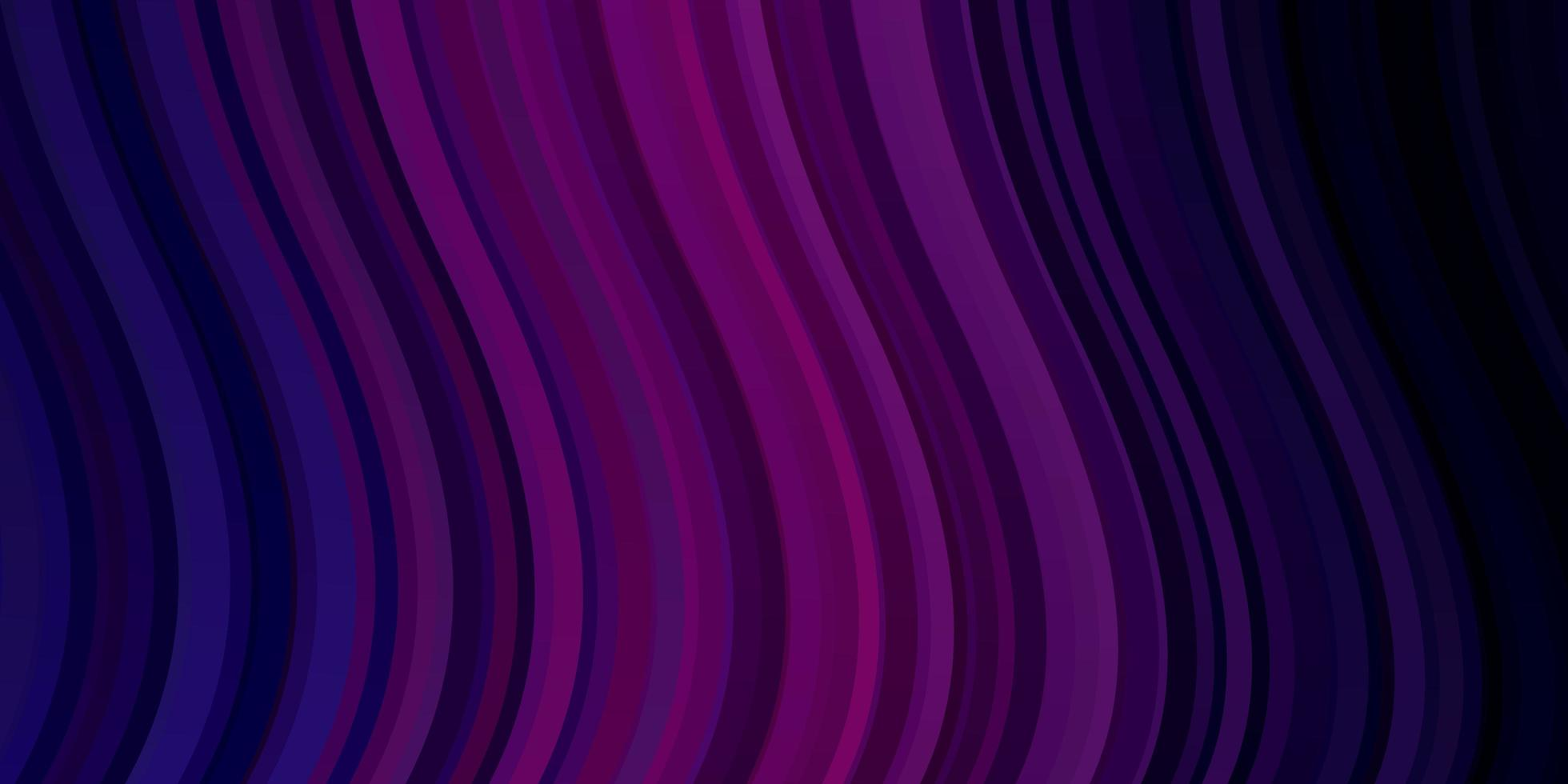 textura vector roxo, rosa escuro com linhas irônicas.