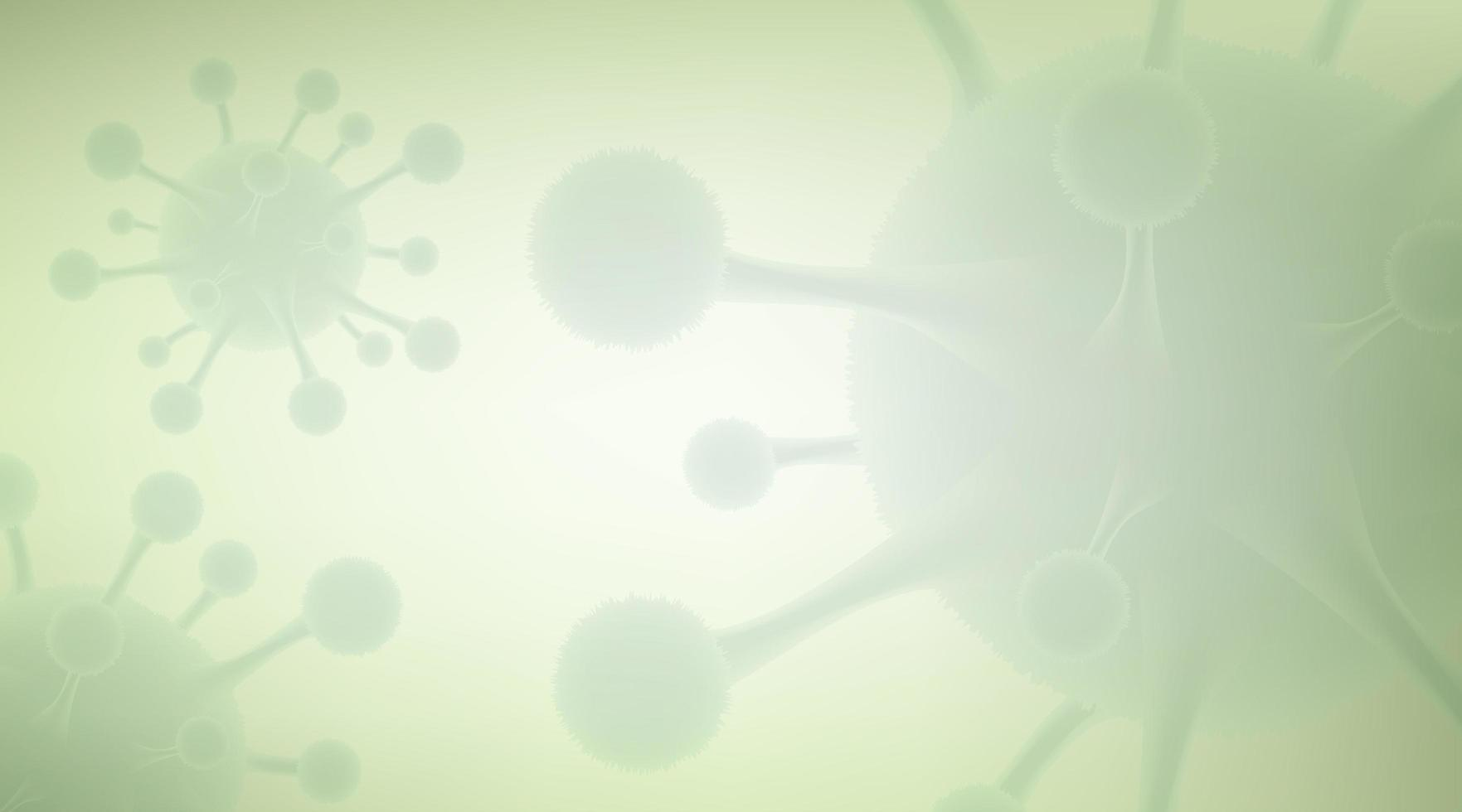 projeto blur coronavirus 2019-ncov vetor