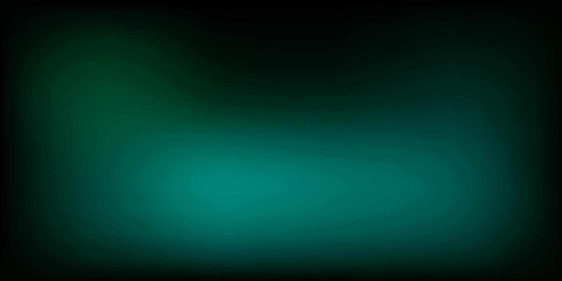 modelo de desfoque de gradiente de vetor verde escuro.