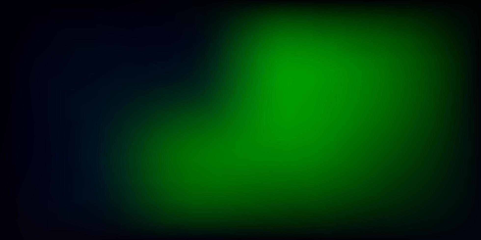 fundo do borrão do sumário do vetor do verde escuro.