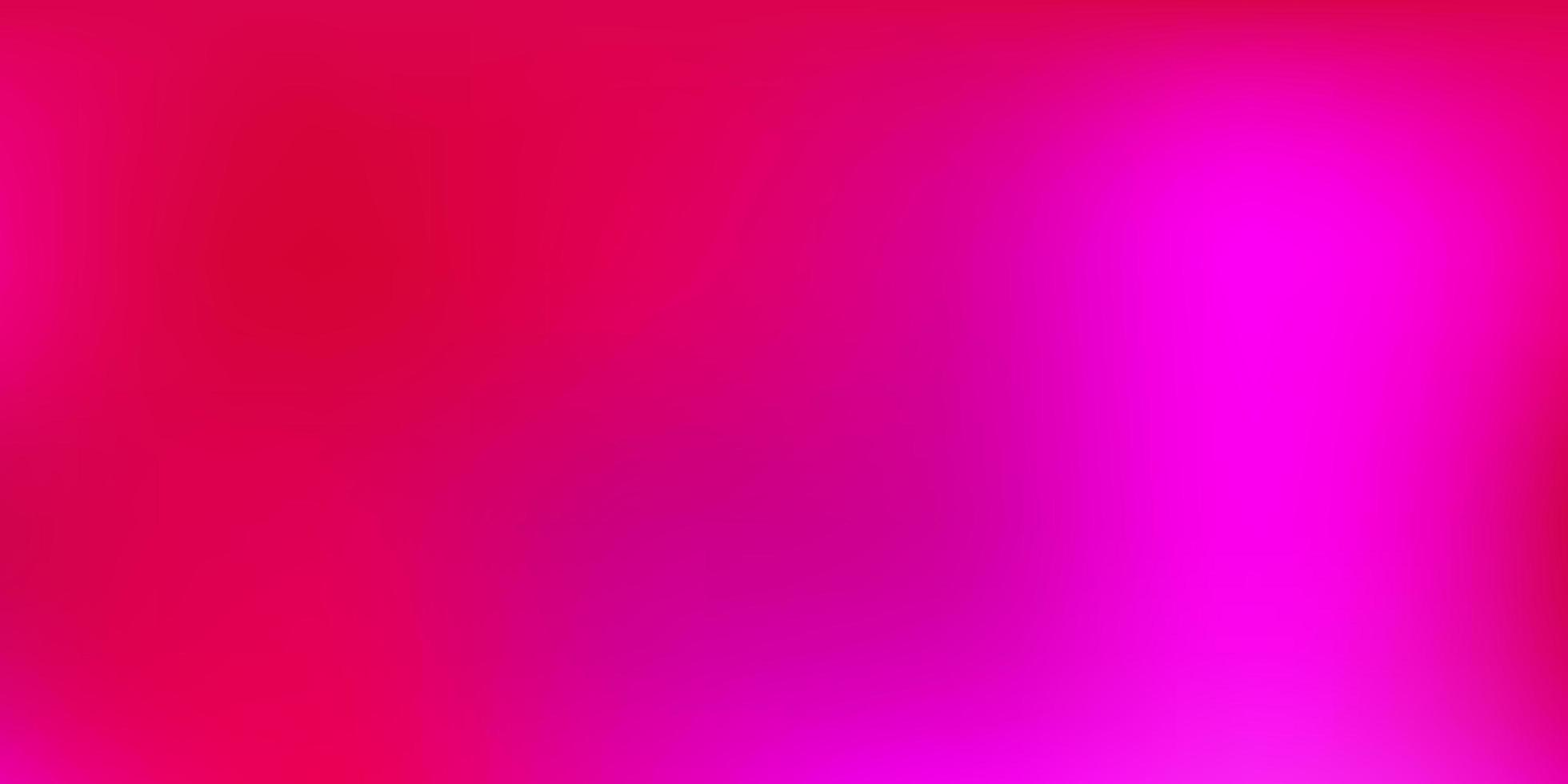layout de borrão abstrato de vetor rosa escuro.