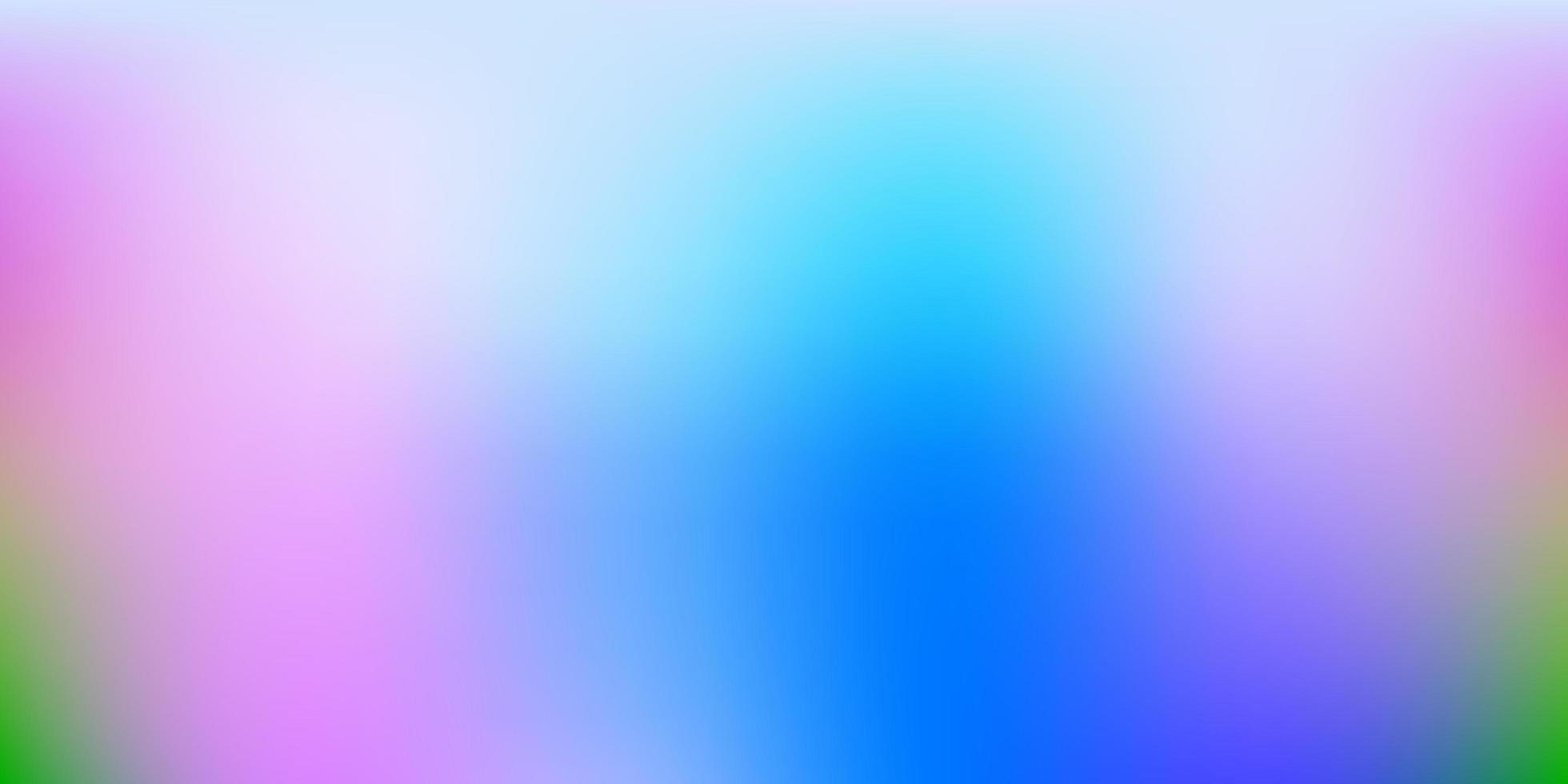 fundo de borrão de vetor azul e vermelho claro.