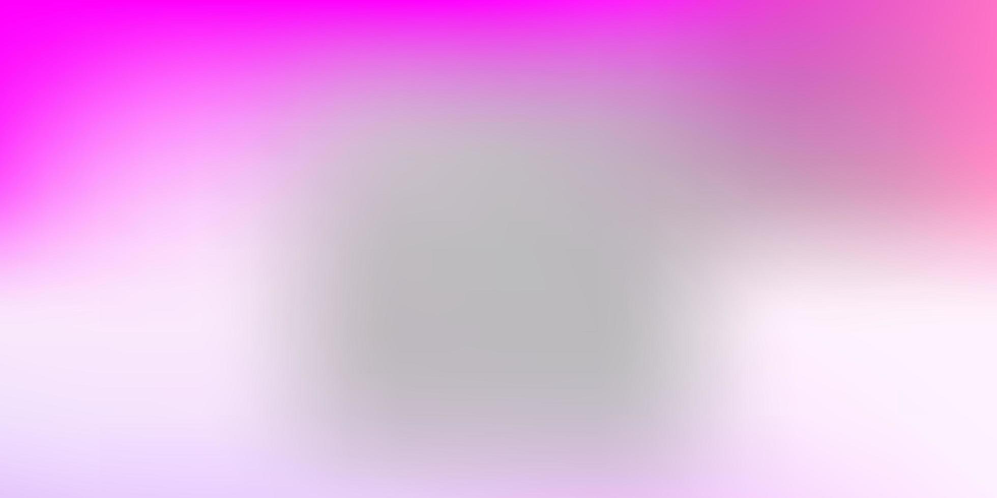 modelo de desfoque de gradiente rosa claro e roxo. vetor