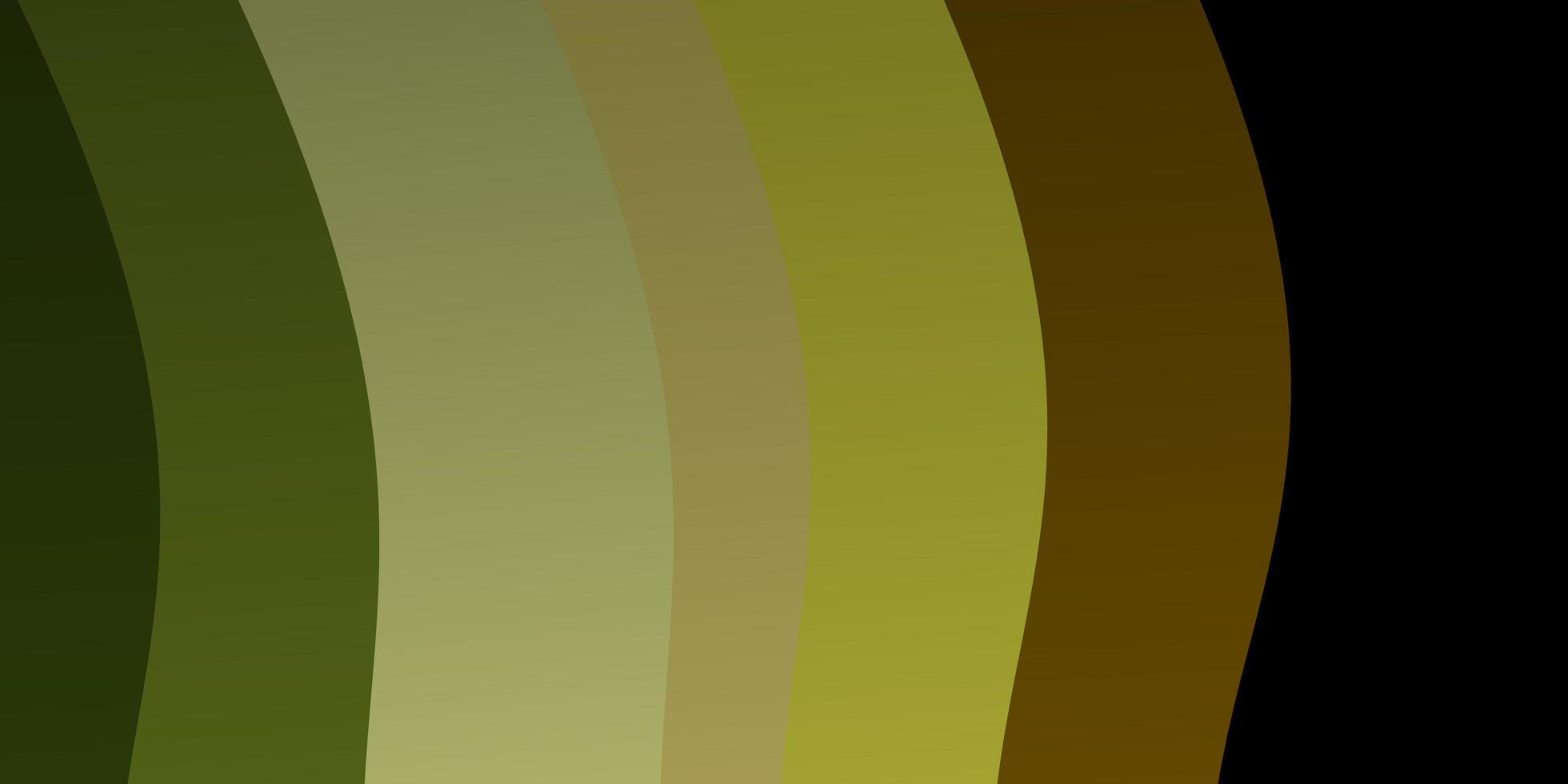 fundo vector verde escuro e amarelo com linhas irônicas.
