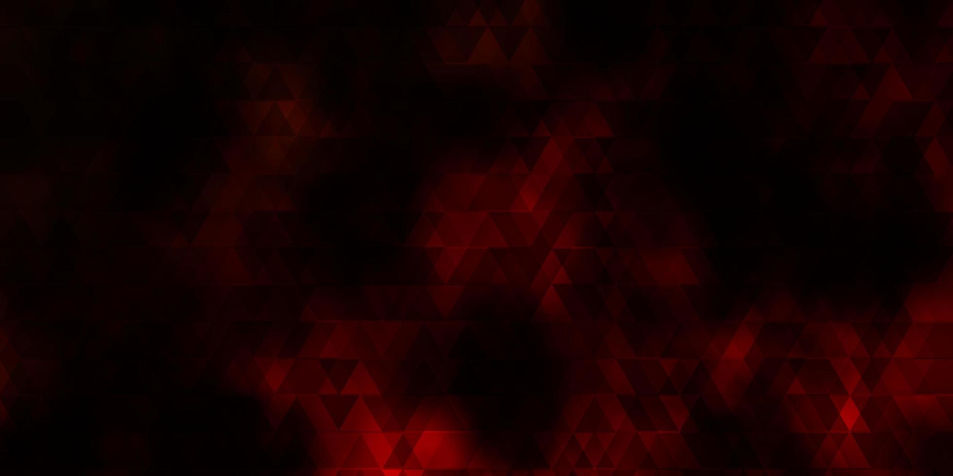 fundo vector laranja escuro com linhas, triângulos.