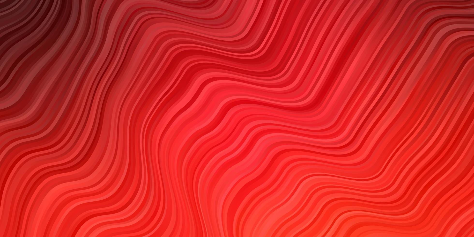 modelo de vetor vermelho claro com curvas.