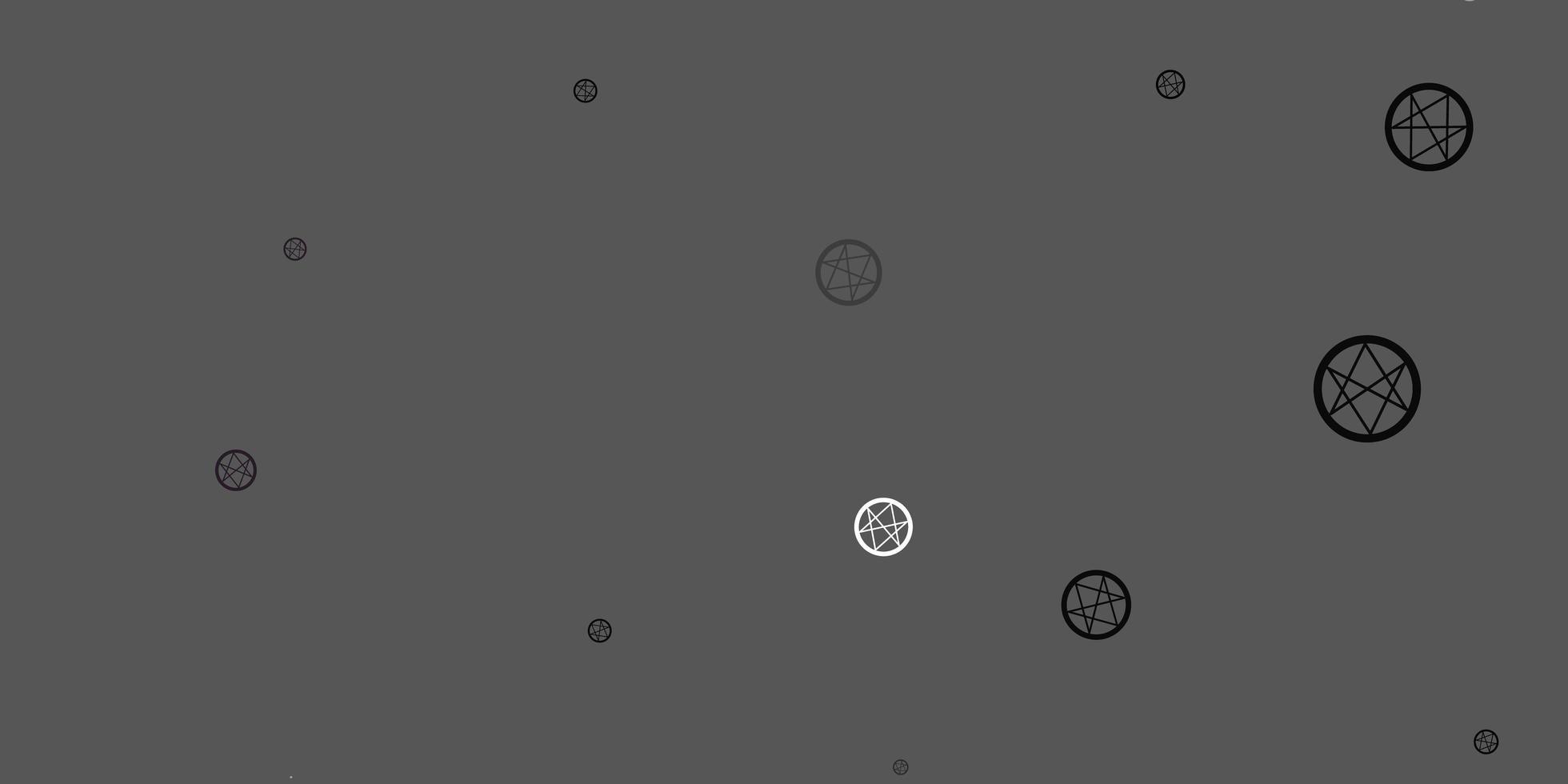 fundo cinza claro com símbolos ocultos. vetor