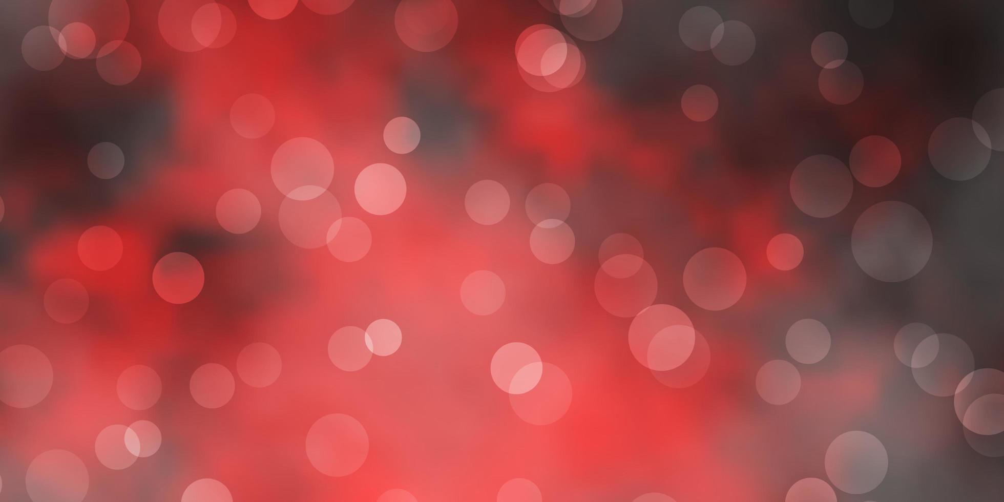 fundo vector vermelho escuro com manchas