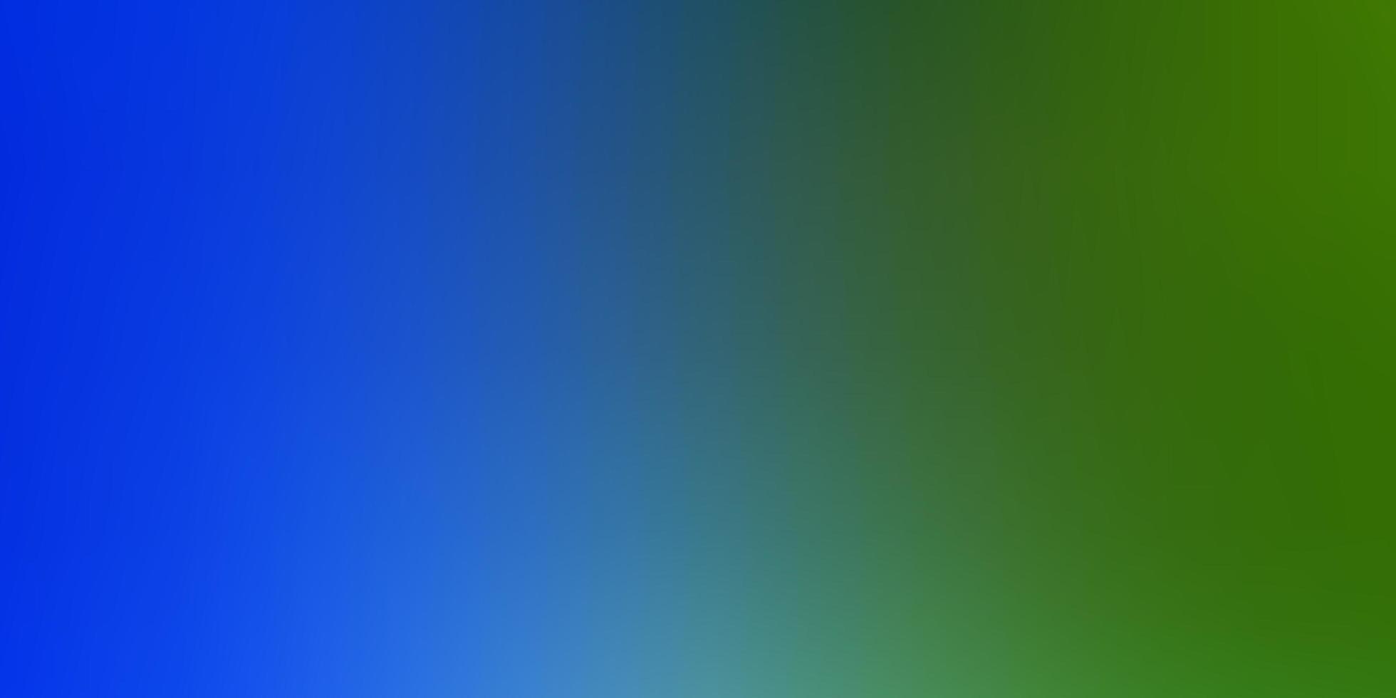 luz azul, verde vetor abstrato turva layout.
