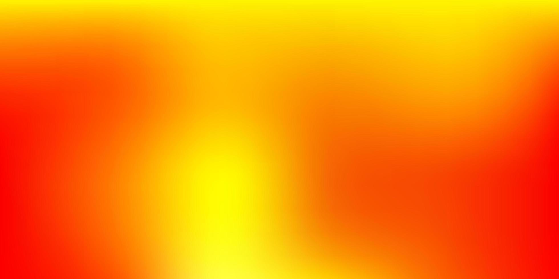 luz laranja vetor abstrato desfoque padrão.