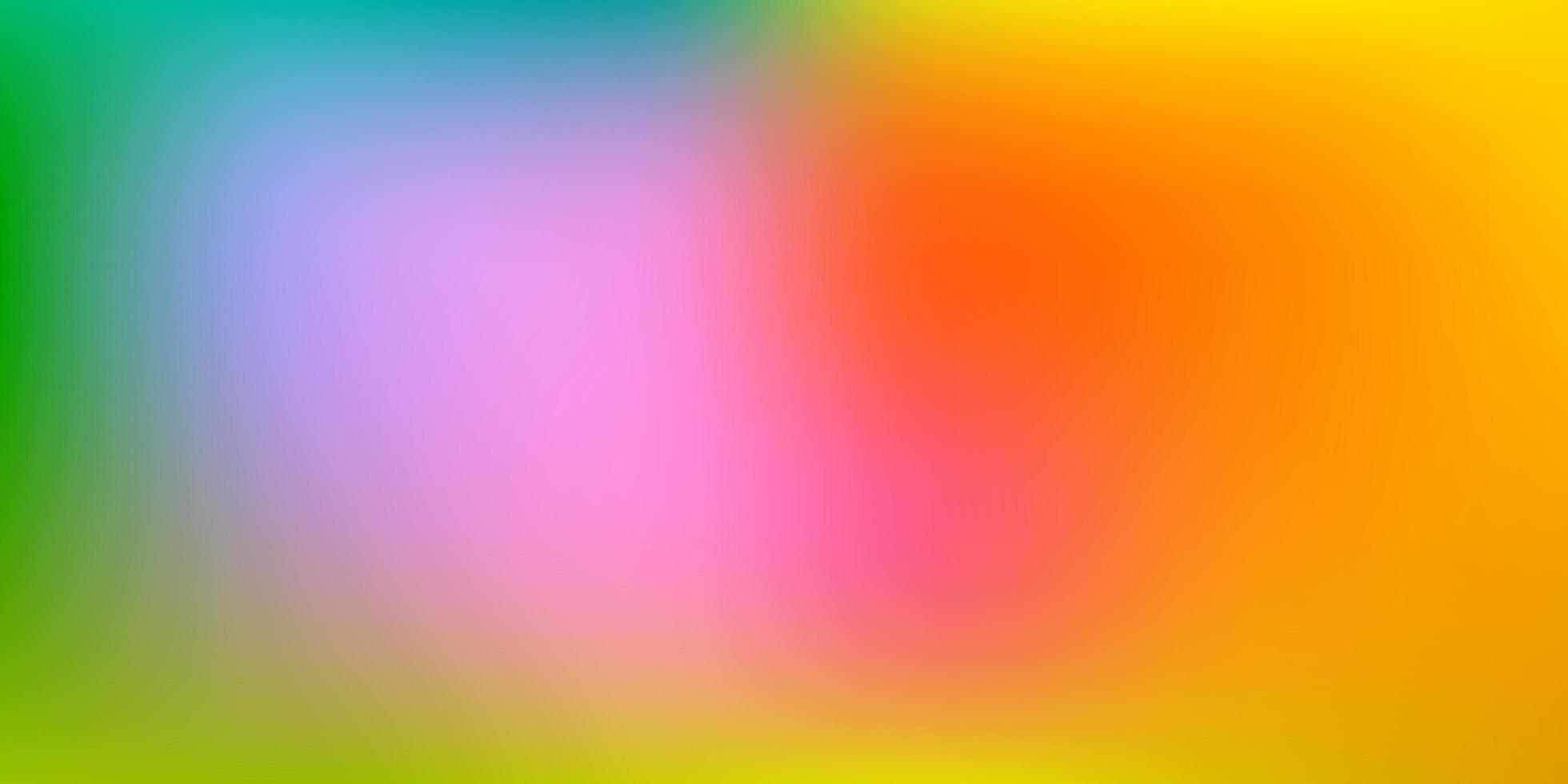 luz multicolor vetor abstrato desfocar modelo.