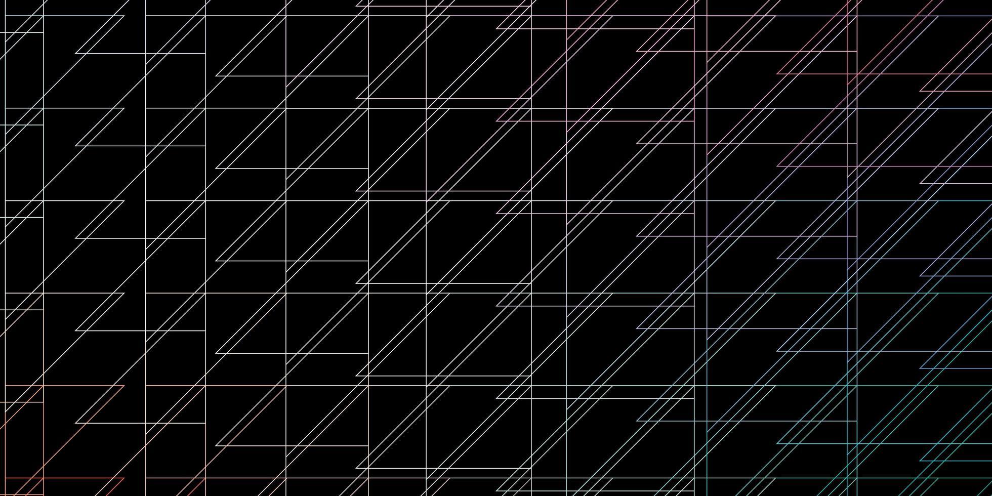 padrão de vetor verde e vermelho escuro com linhas.