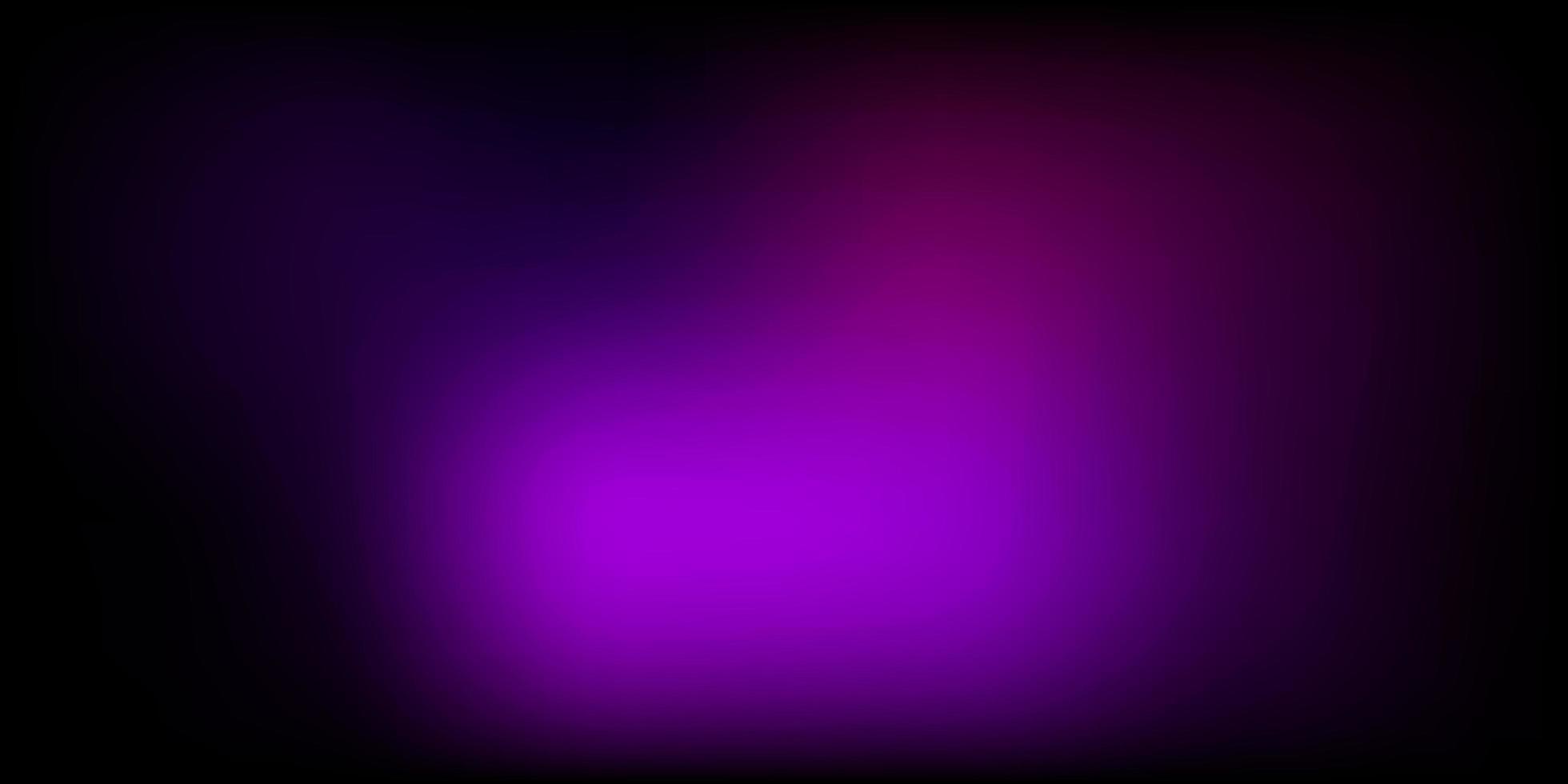 padrão de desfoque gradiente de vetor roxo escuro.