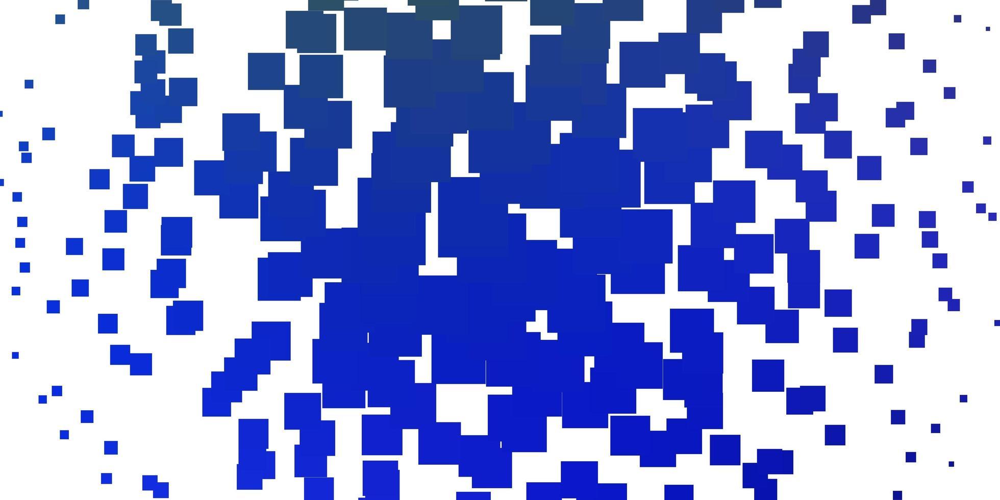 padrão de vetor azul claro e verde em estilo quadrado