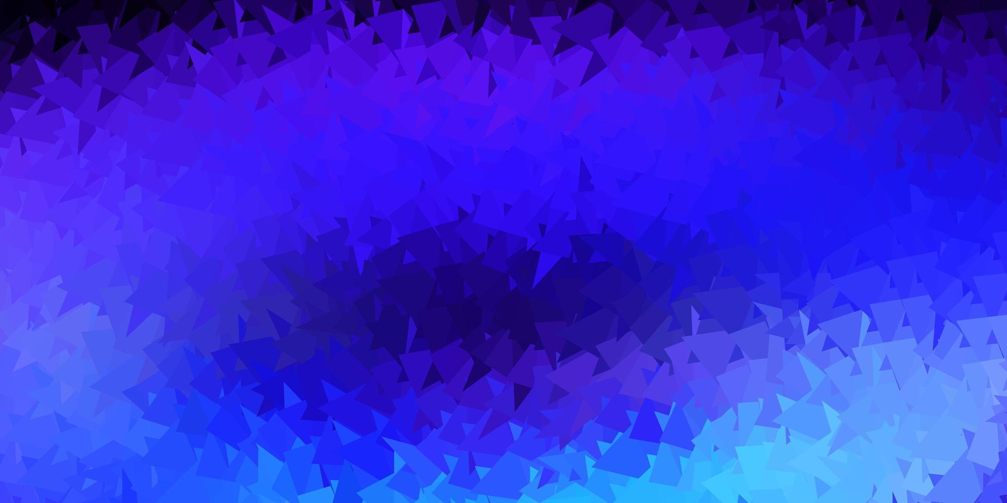 textura de polígono gradiente de vetor rosa escuro, azul.