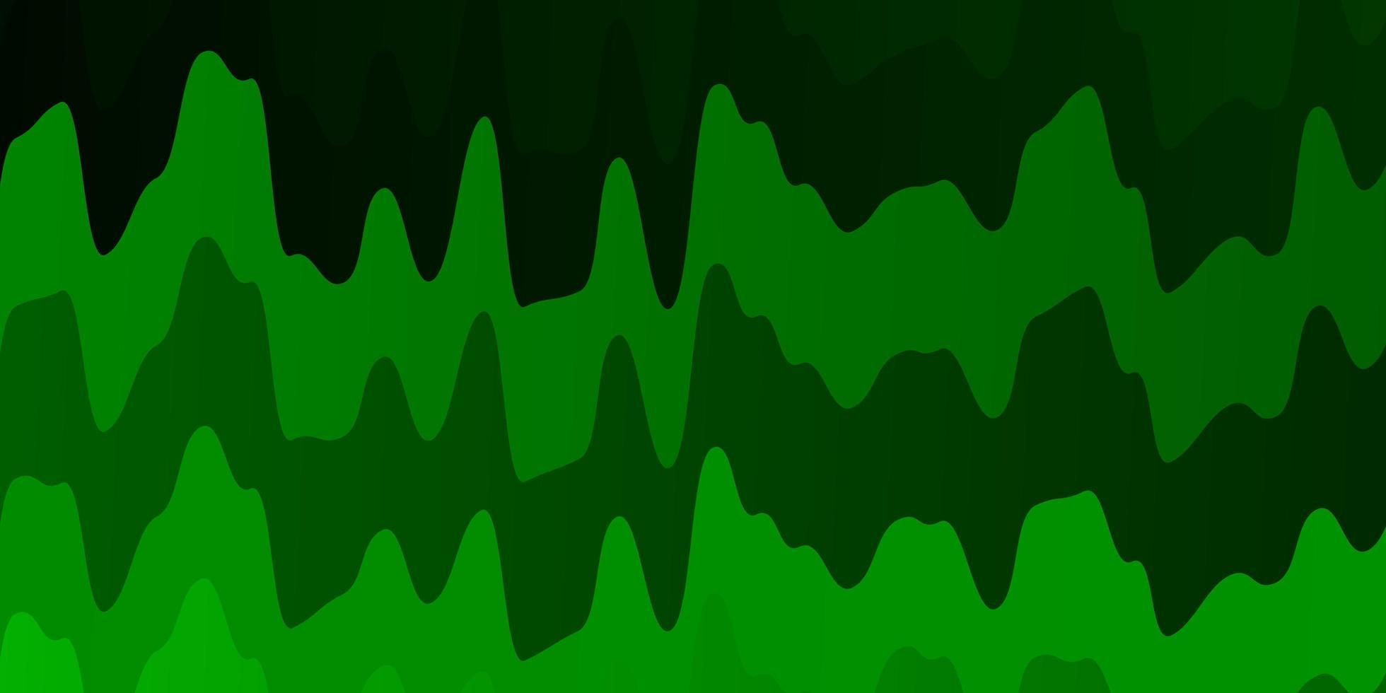 textura de vetor verde claro com arco circular.