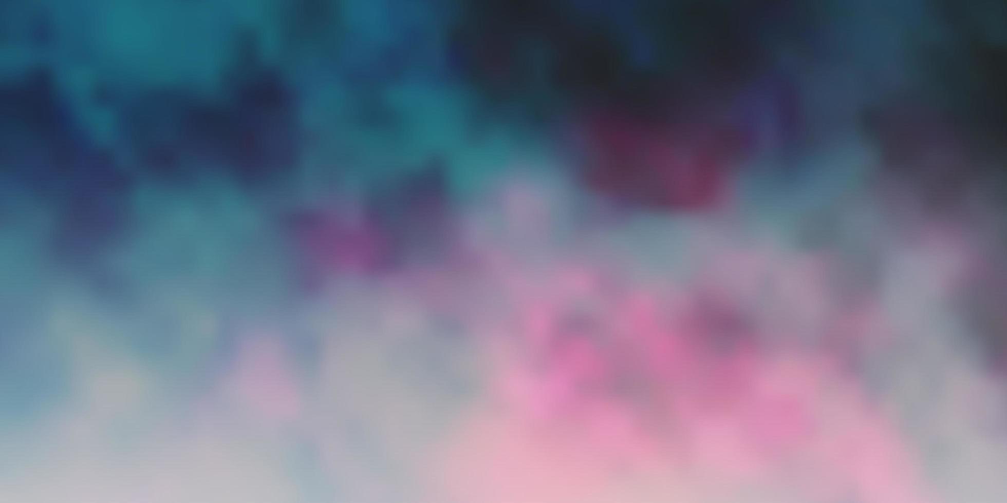 pano de fundo vector rosa escuro com cúmulos.