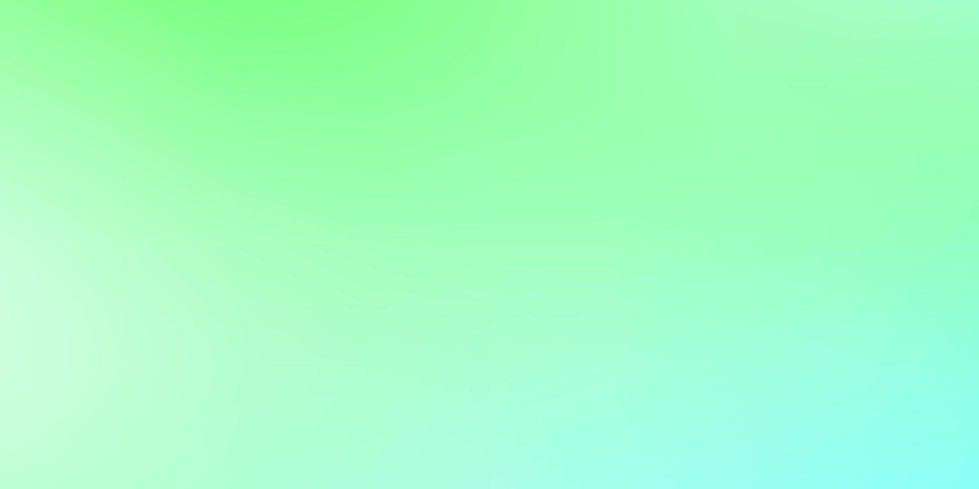 luz verde vetor turva fundo colorido.