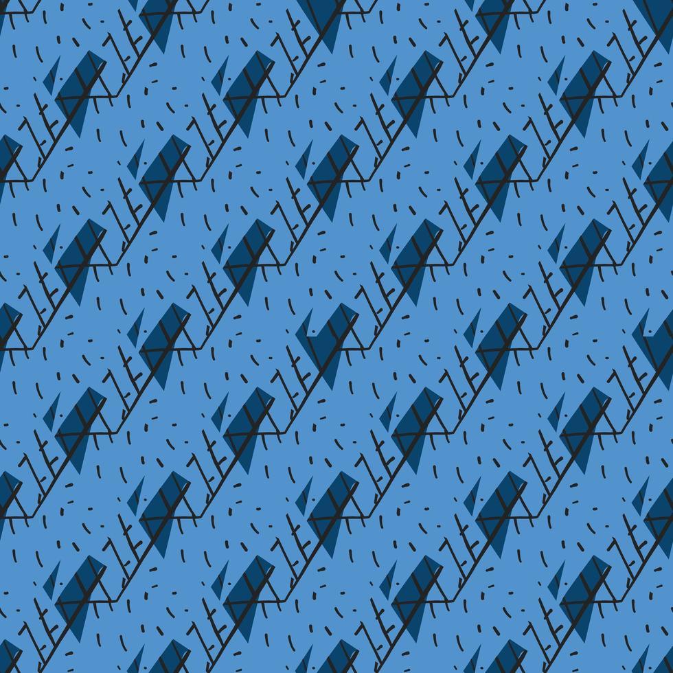 padrão sem emenda de vetor, fundo de textura. desenhado à mão. vetor