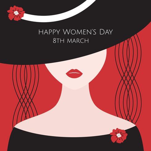 Vetor Minimalista do Dia das Mulheres