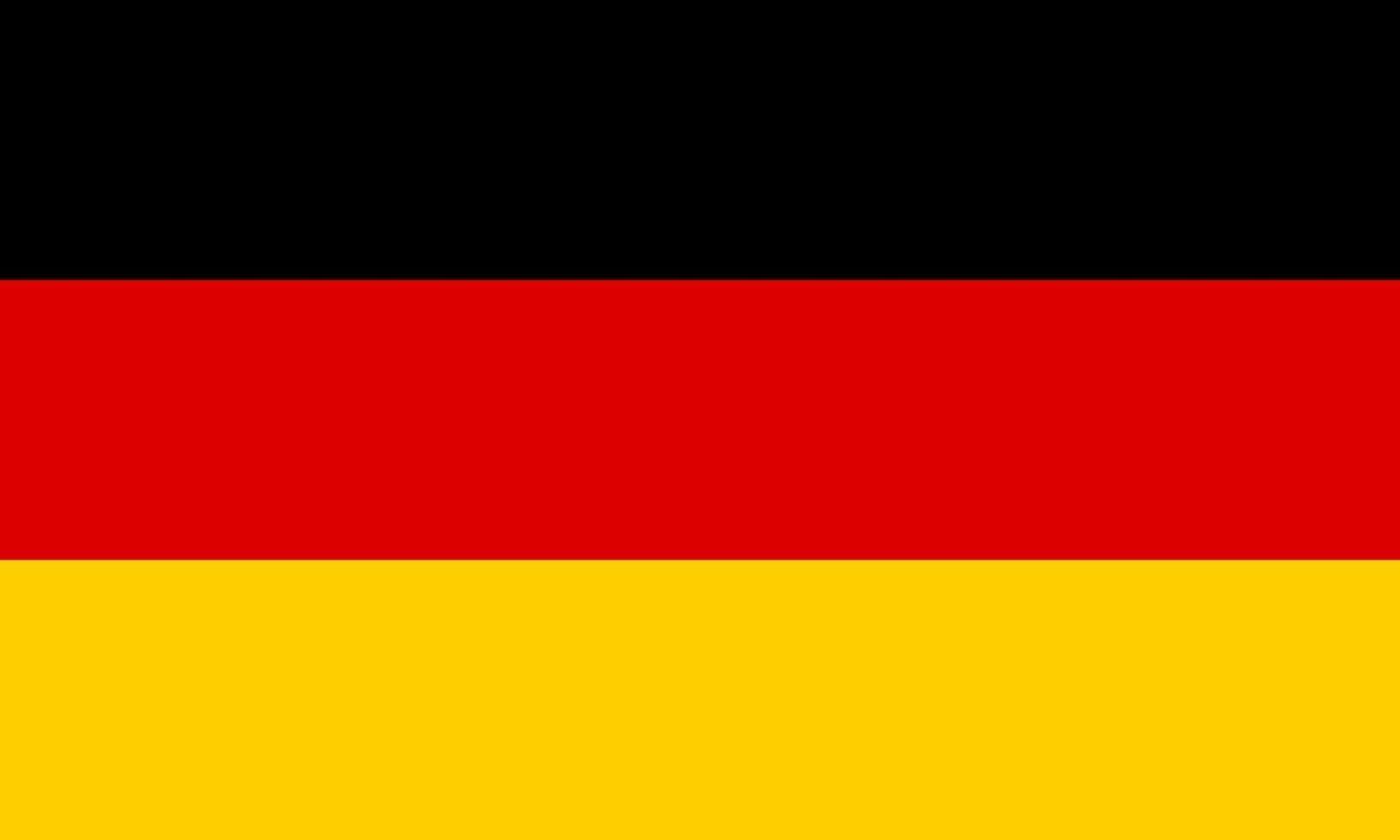 bandeira da República Federal da Alemanha. 1925484 Vetor no Vecteezy