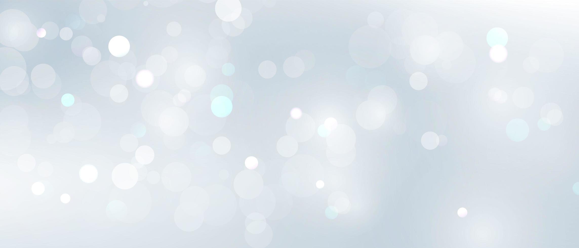 elemento de luz desfocada abstrato que pode ser usado para o fundo do bokeh da decoração da capa vetor