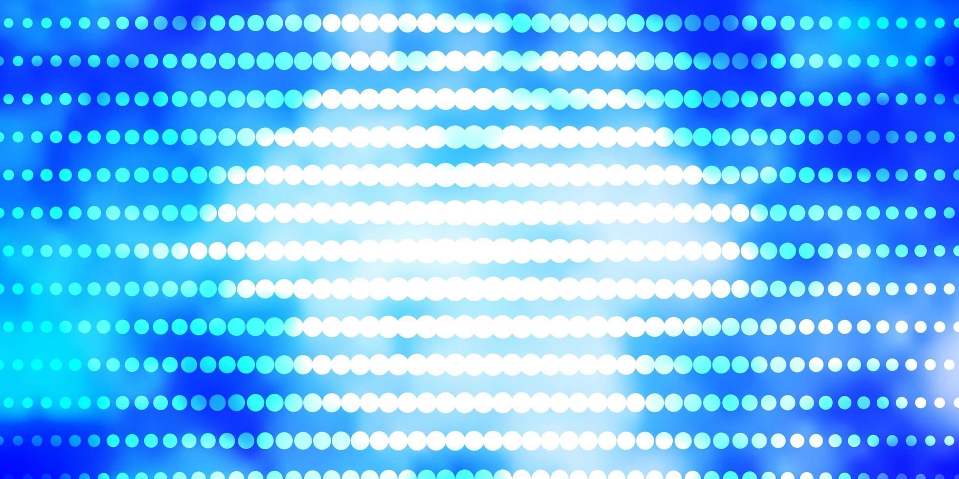 textura de vetor rosa claro, azul com círculos.