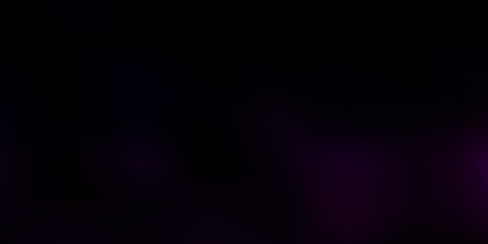 fundo de borrão de vetor rosa escuro e azul.