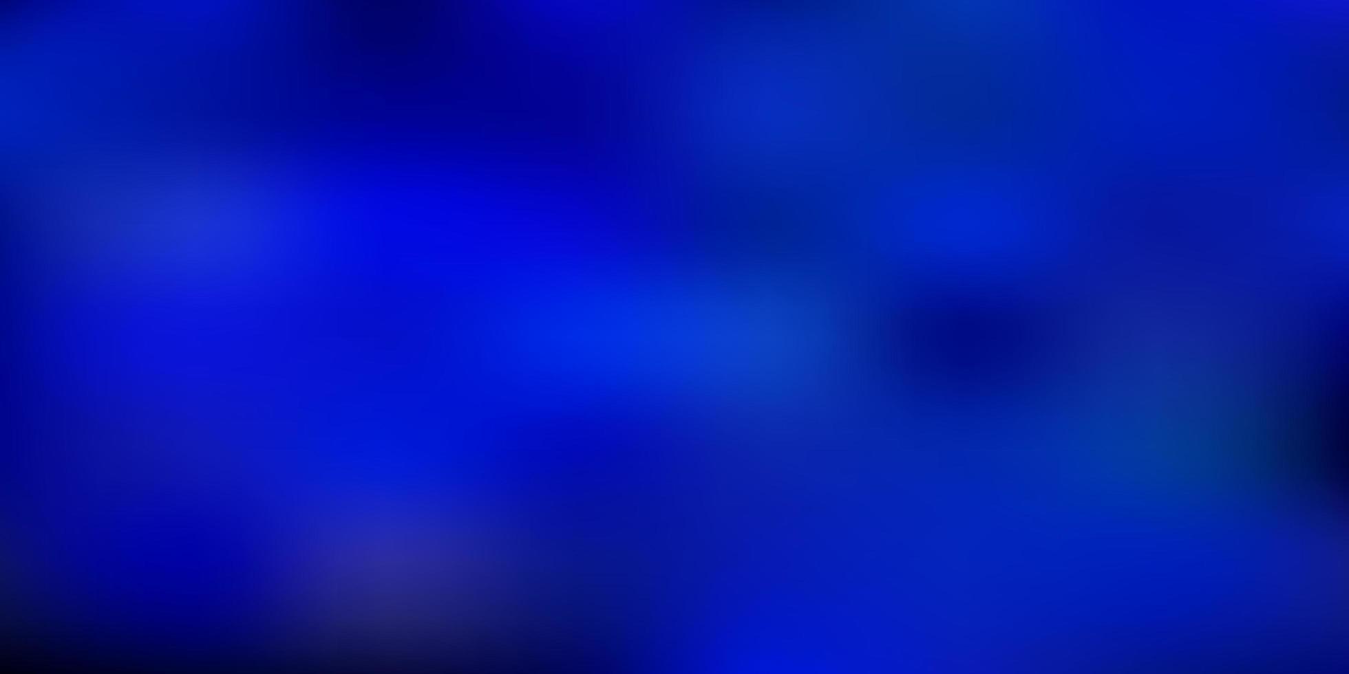 desenho de borrão de gradiente de vetor azul escuro.