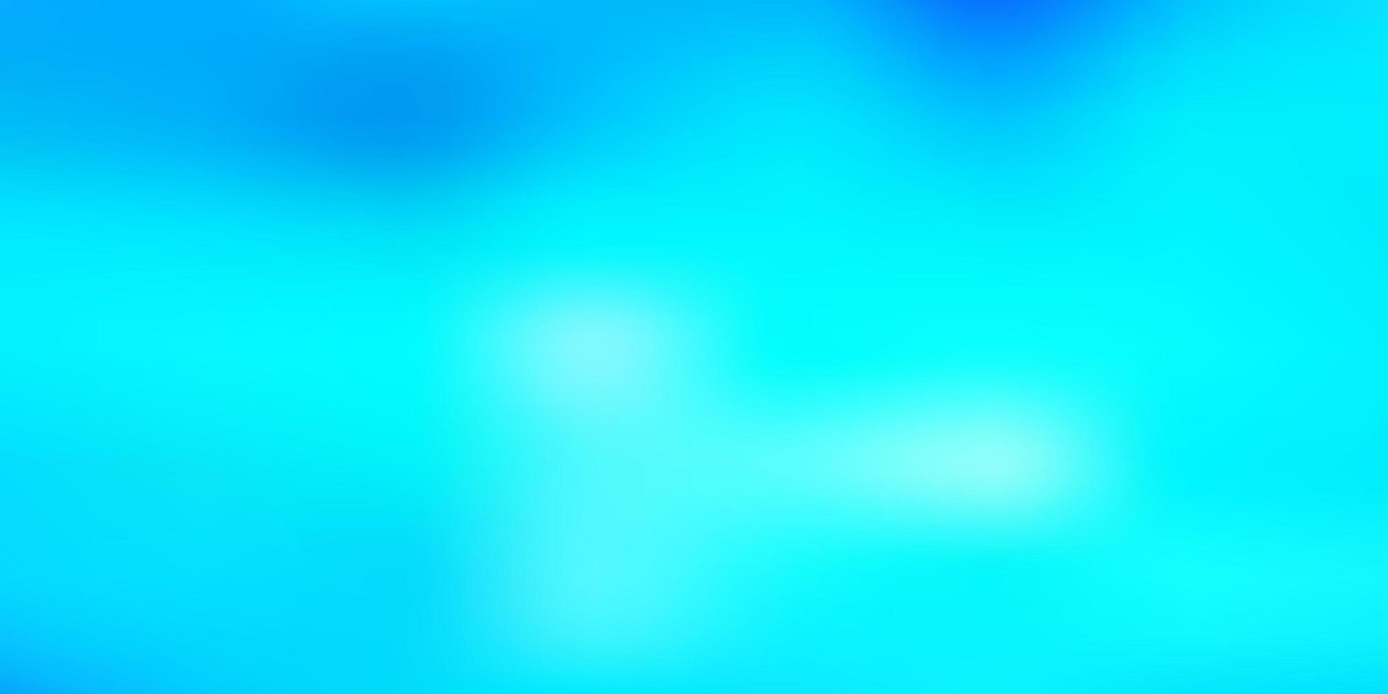 textura turva vector azul claro.