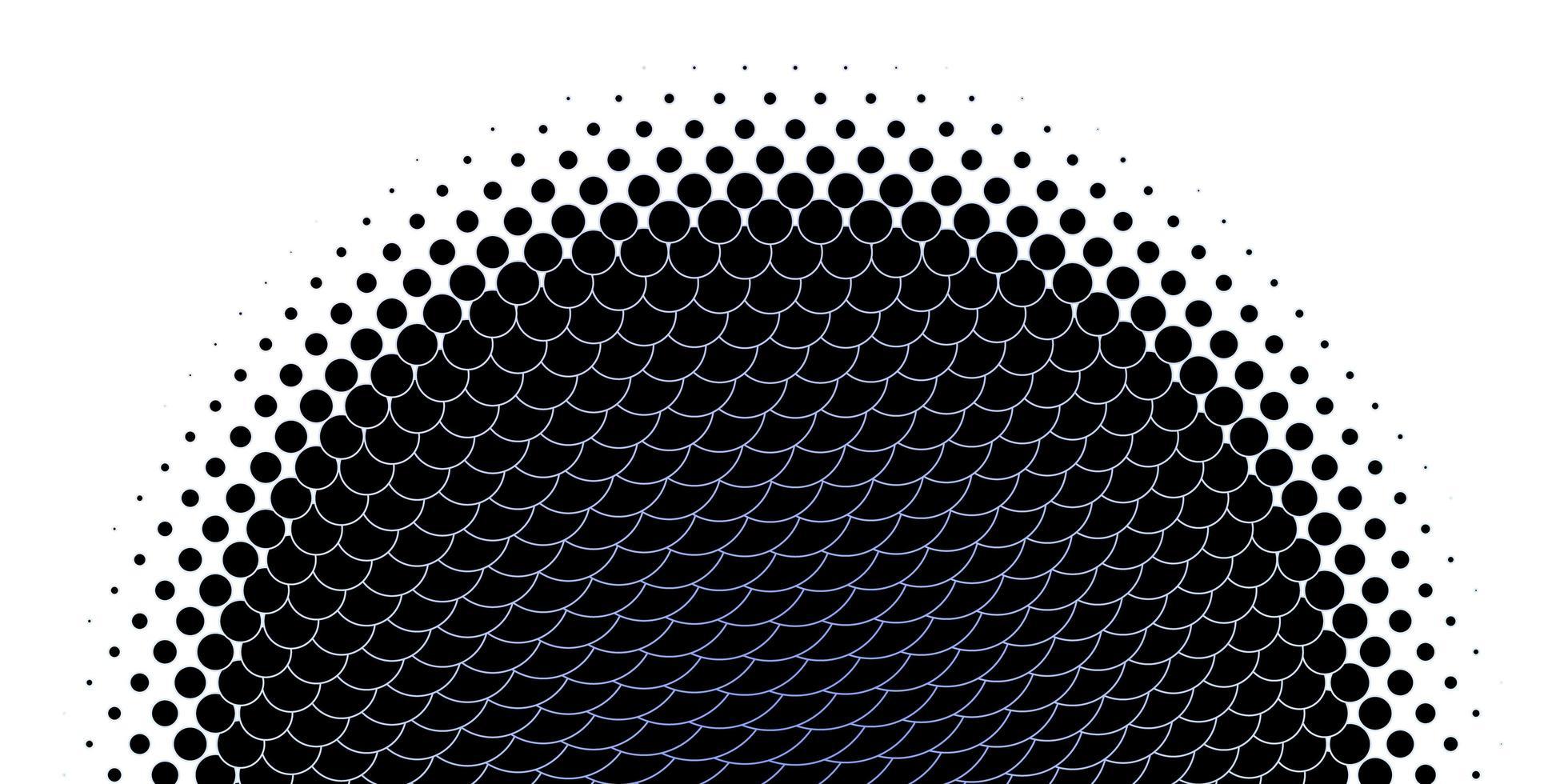 layout de vetor roxo claro com formas de círculo.