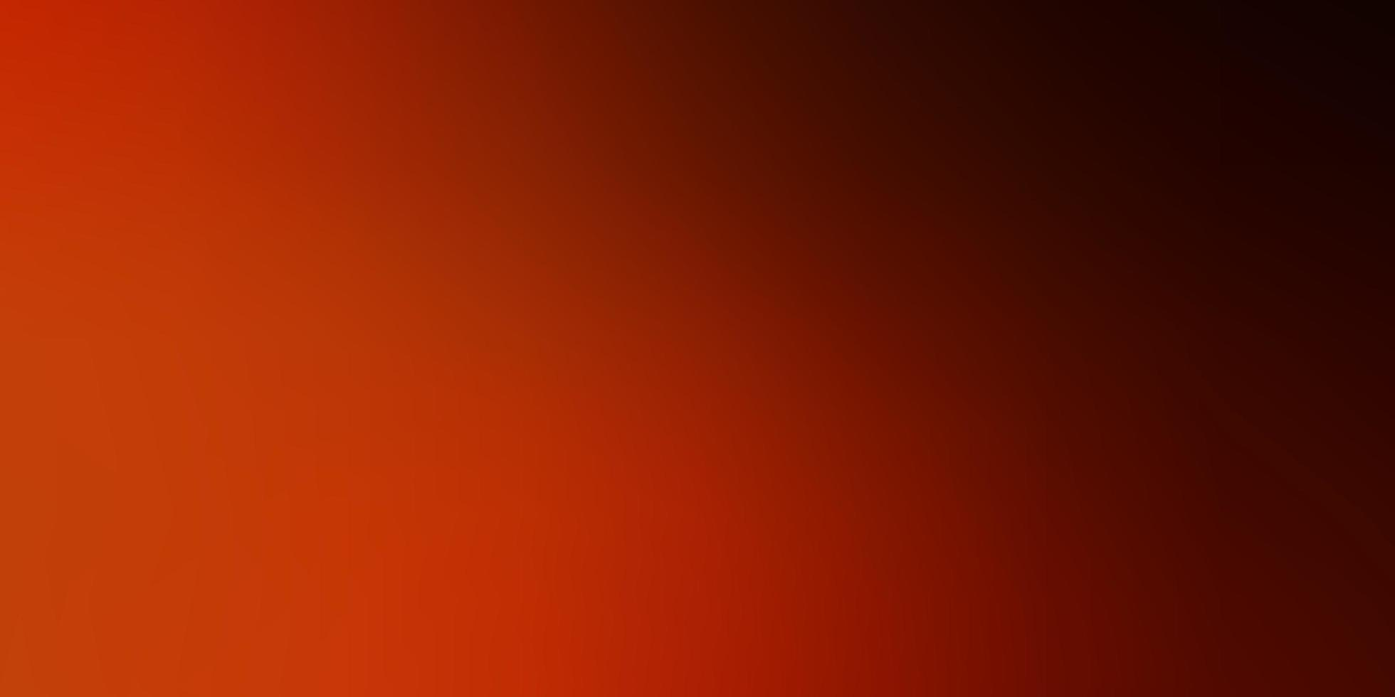 vetor laranja escuro turva fundo colorido.