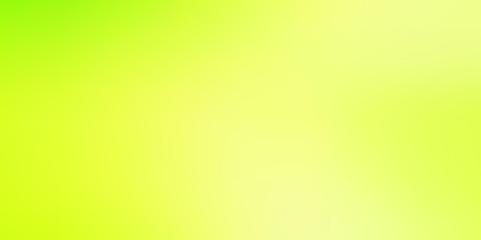 modelo borrado de vetor verde e amarelo claro.