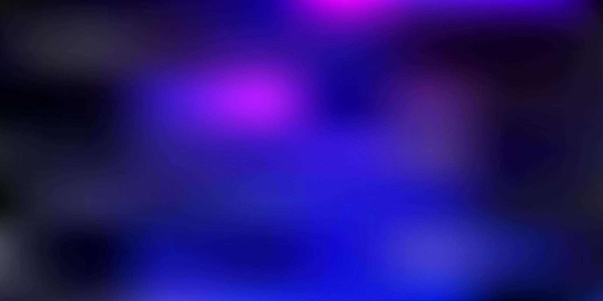modelo de borrão gradiente de vetor rosa escuro e azul.