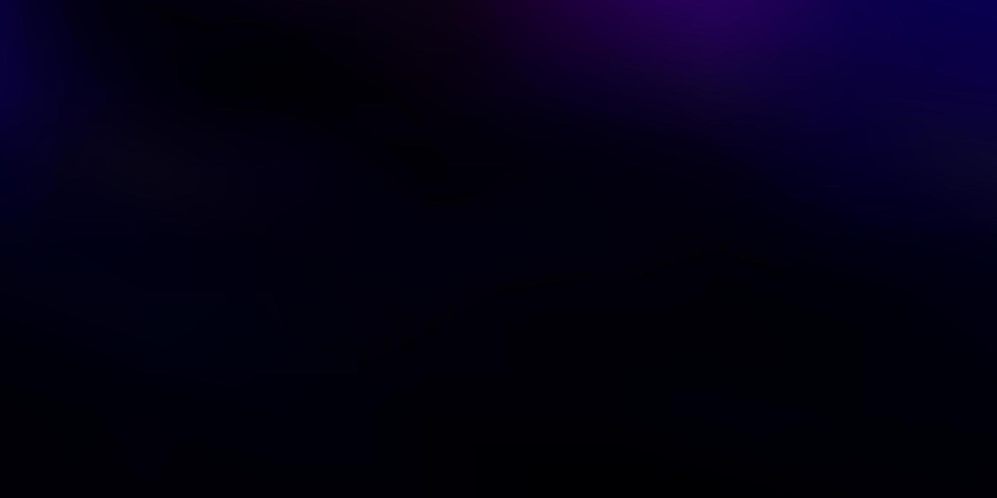 fundo de borrão abstrato de vetor rosa escuro, azul.