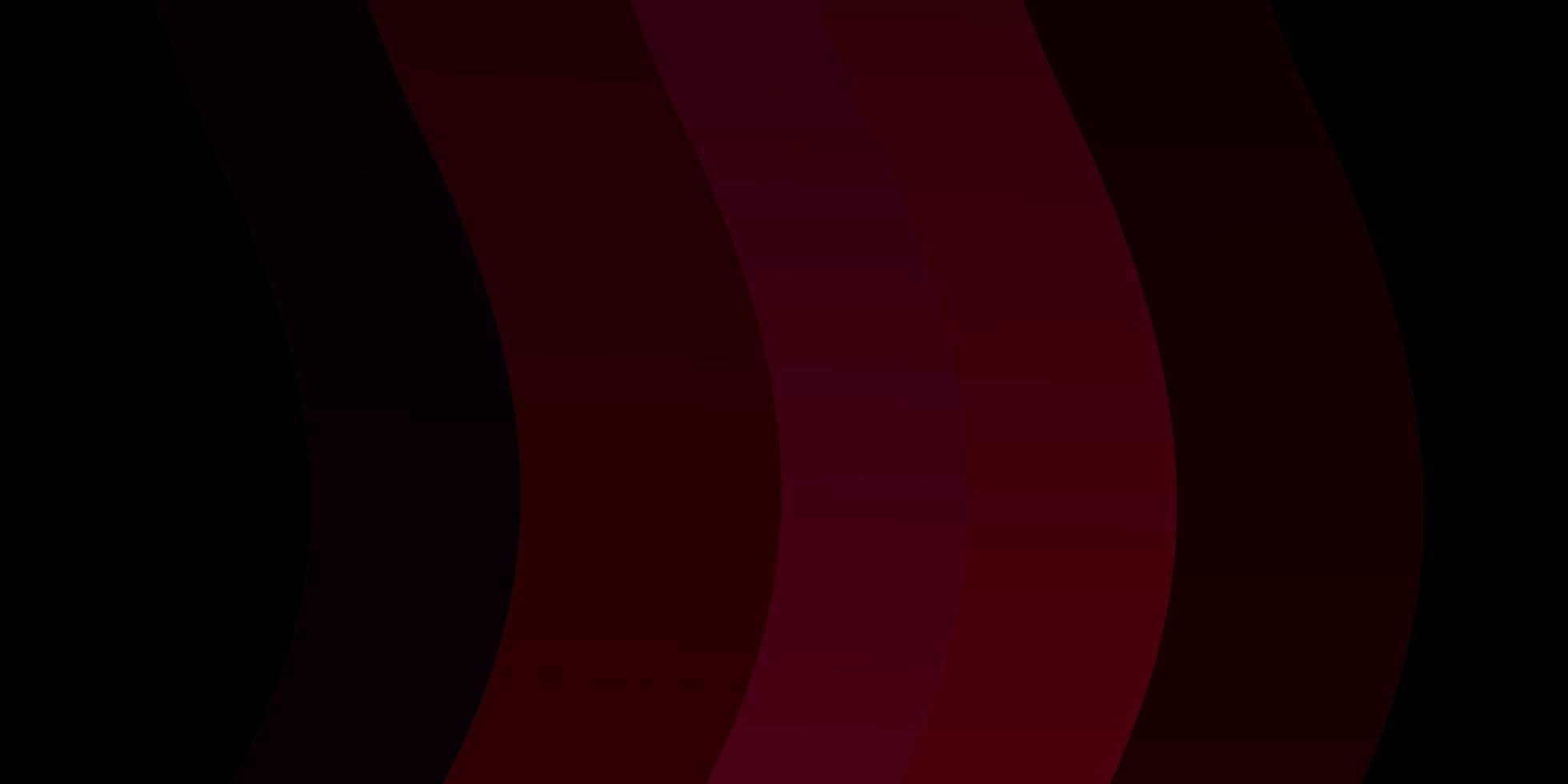 modelo de vetor rosa escuro com linhas irônicas.