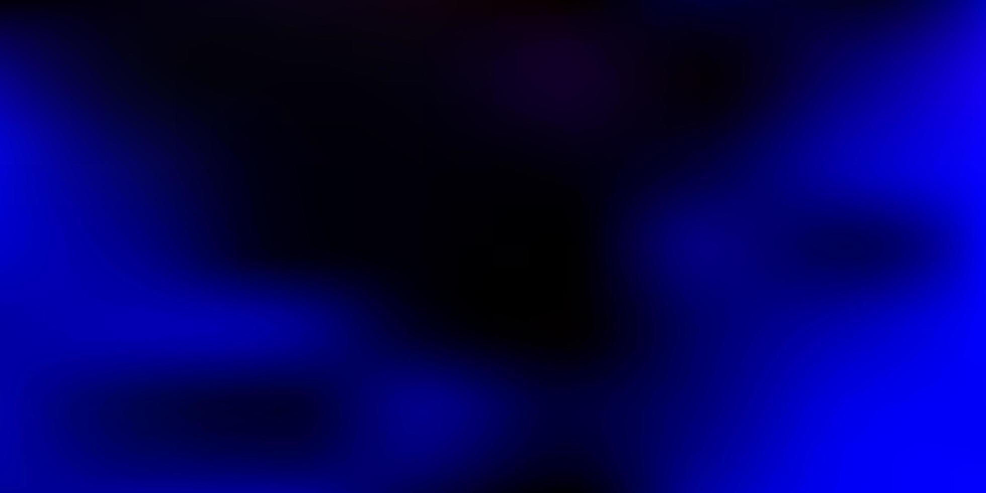 fundo de desfoque de gradiente vector rosa escuro, azul.