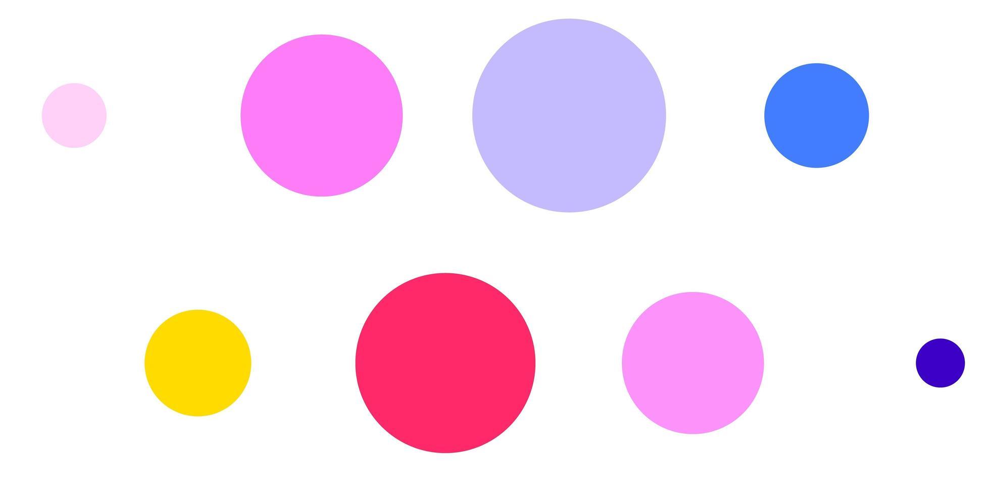 fundo vector rosa claro, azul com bolhas.